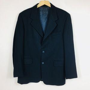 J.Crew Mens Navy Blazer 100 % wool Size 38